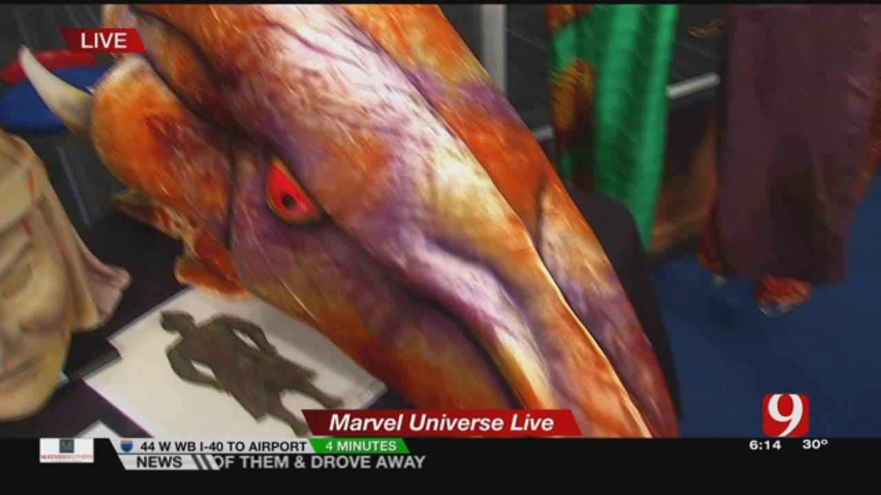 A Behind-The-Scenes Look At The Costumes For Marvel Universe Live