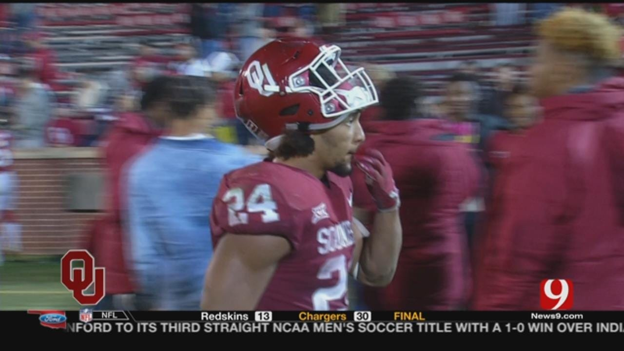 Rodney Anderson, Sooners Prep For Rose Bowl