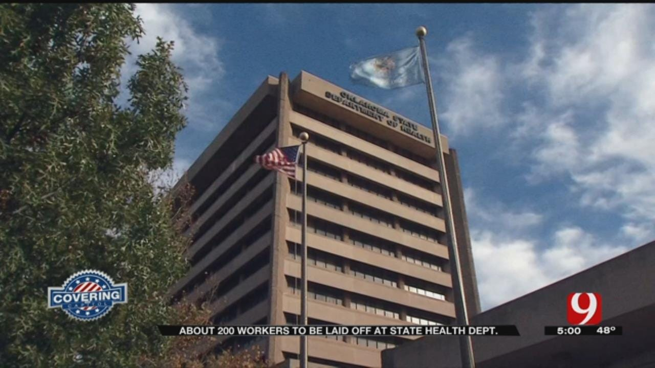 Layoffs Announced At Oklahoma State Department Of Health