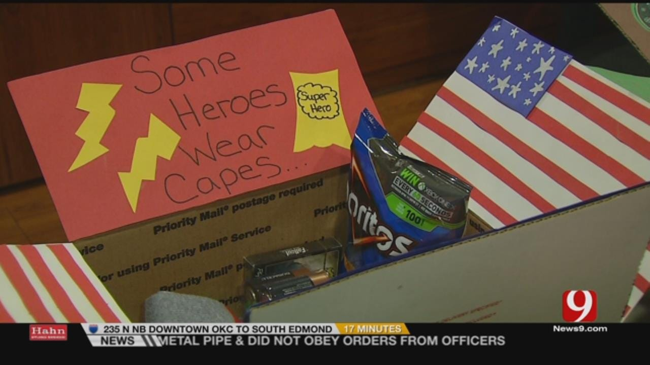 Preschoolers Give Back To Servicemen During Holidays