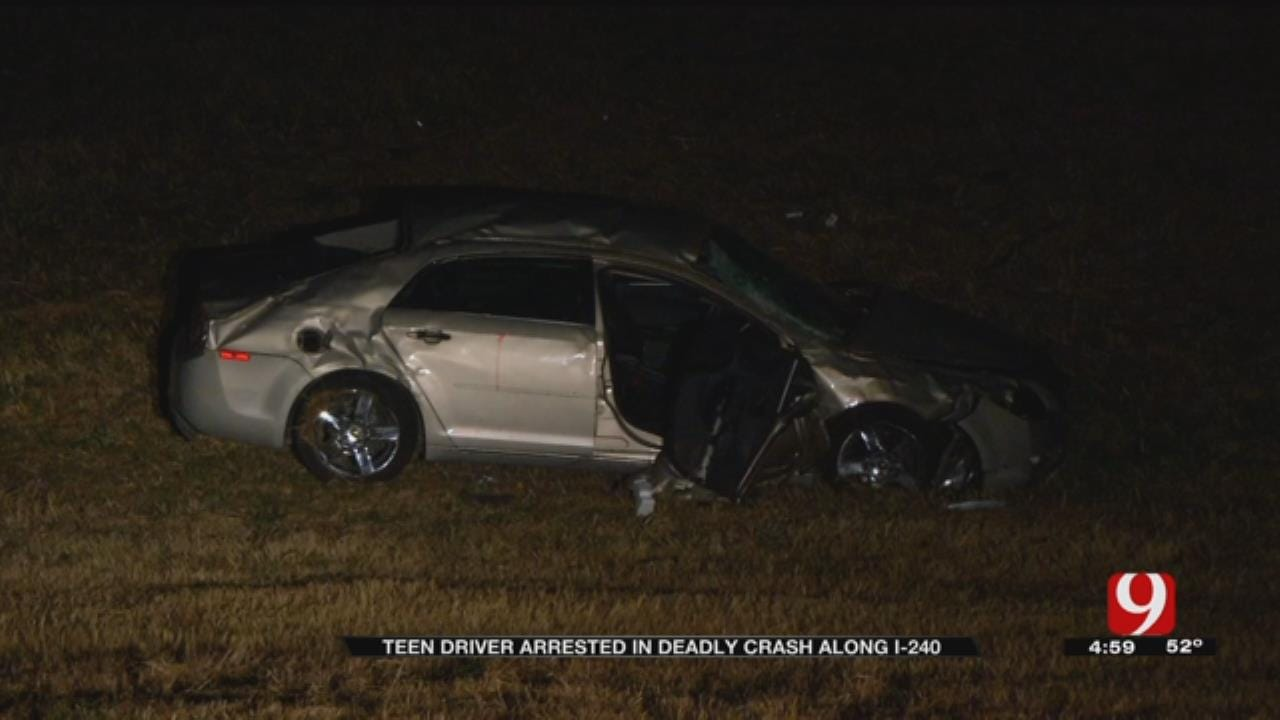 Teen Faces DUI, Murder Charge After Fatal Crash On I-240
