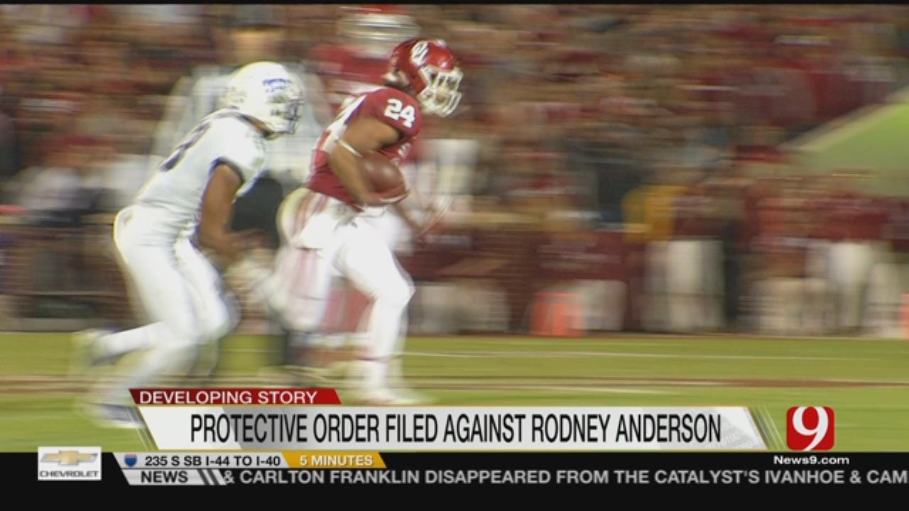 Protective Order Filed Against OU Running Back Rodney Anderson
