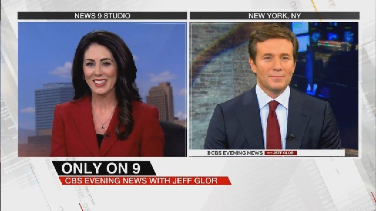 Amanda Taylor Interviews Jeff Glor Ahead Of CBS News Debut