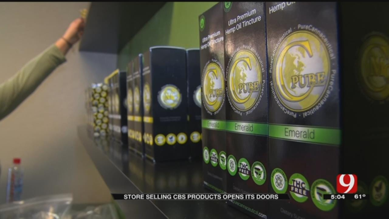 Store Dedicated To CBD Products Opens In Midwest City