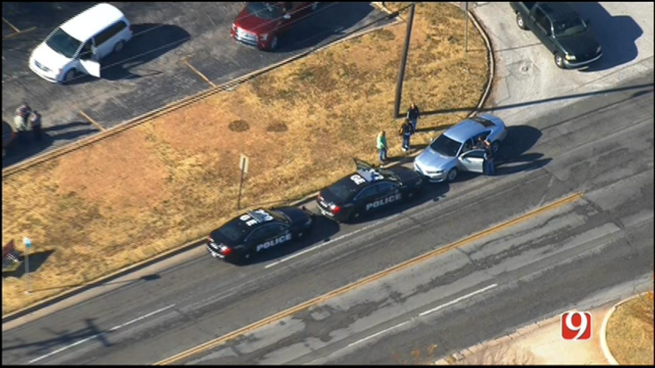 WEB EXTRA: SkyNews 9 Flies Over End Of Pursuit In NW OKC
