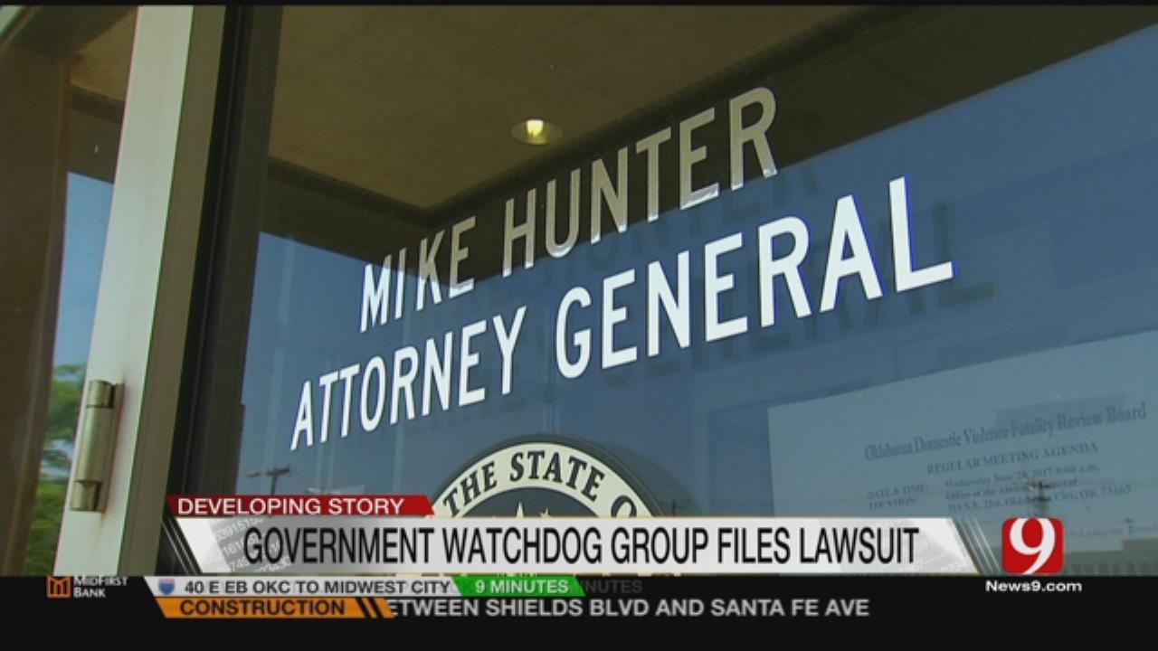 Lawsuit Takes Aim At Oklahoma AG Mike Hunter, Former AG Scott Pruitt