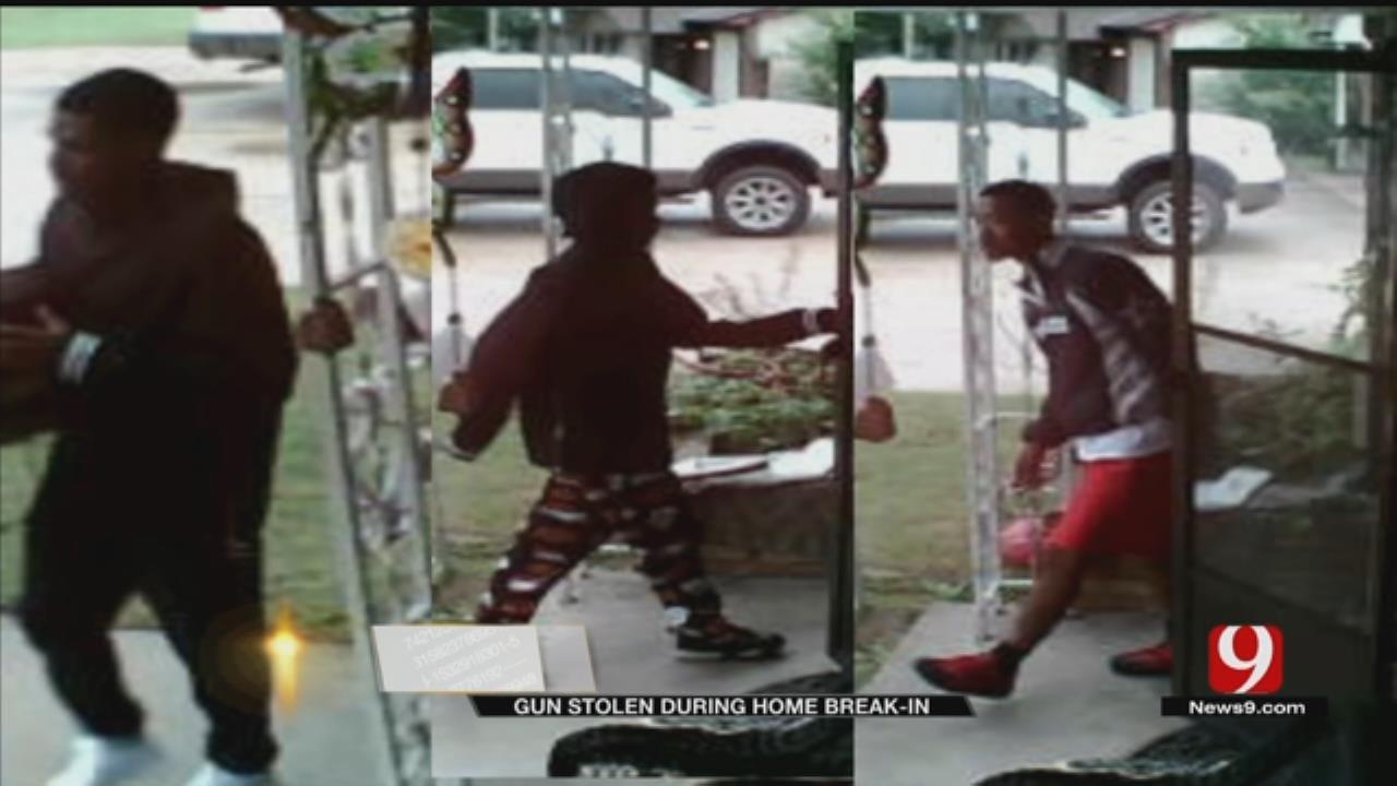 Suspects Steal Firearm