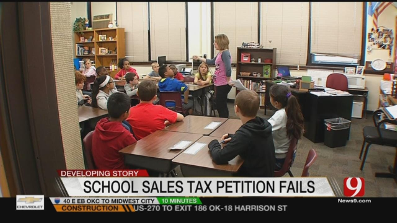 OKC Sales Tax Petition For School Teacher Pay Raises Fails