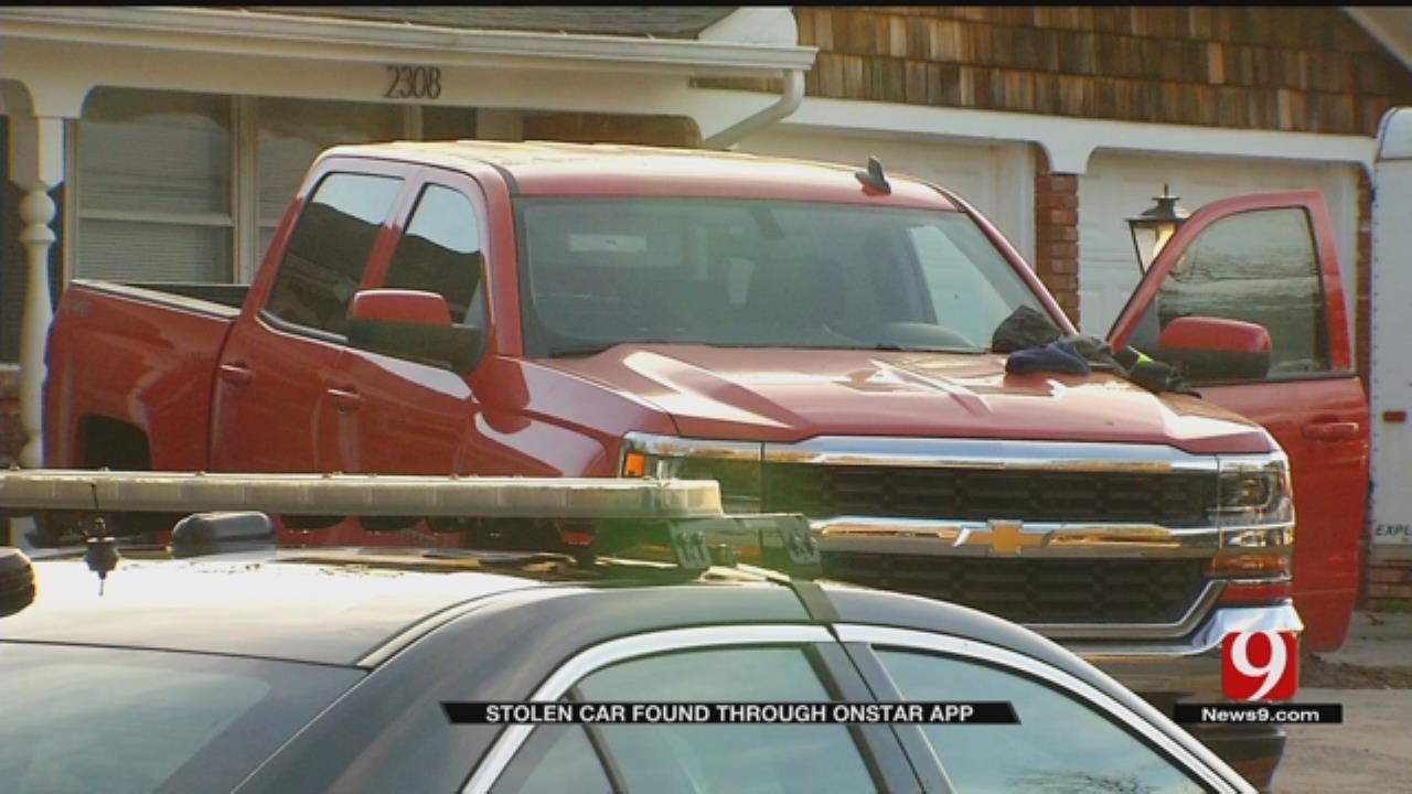 Stolen Truck Found