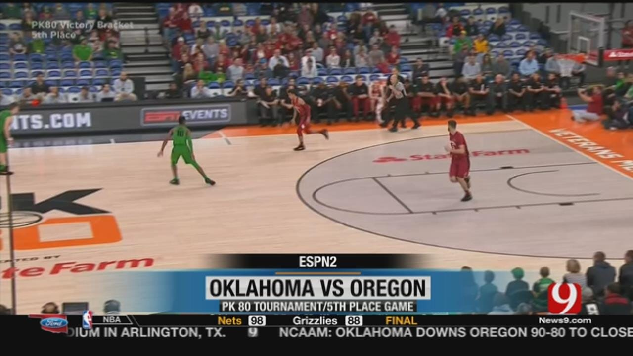 Sooners Defeat Ducks Behind Young's 43 Points
