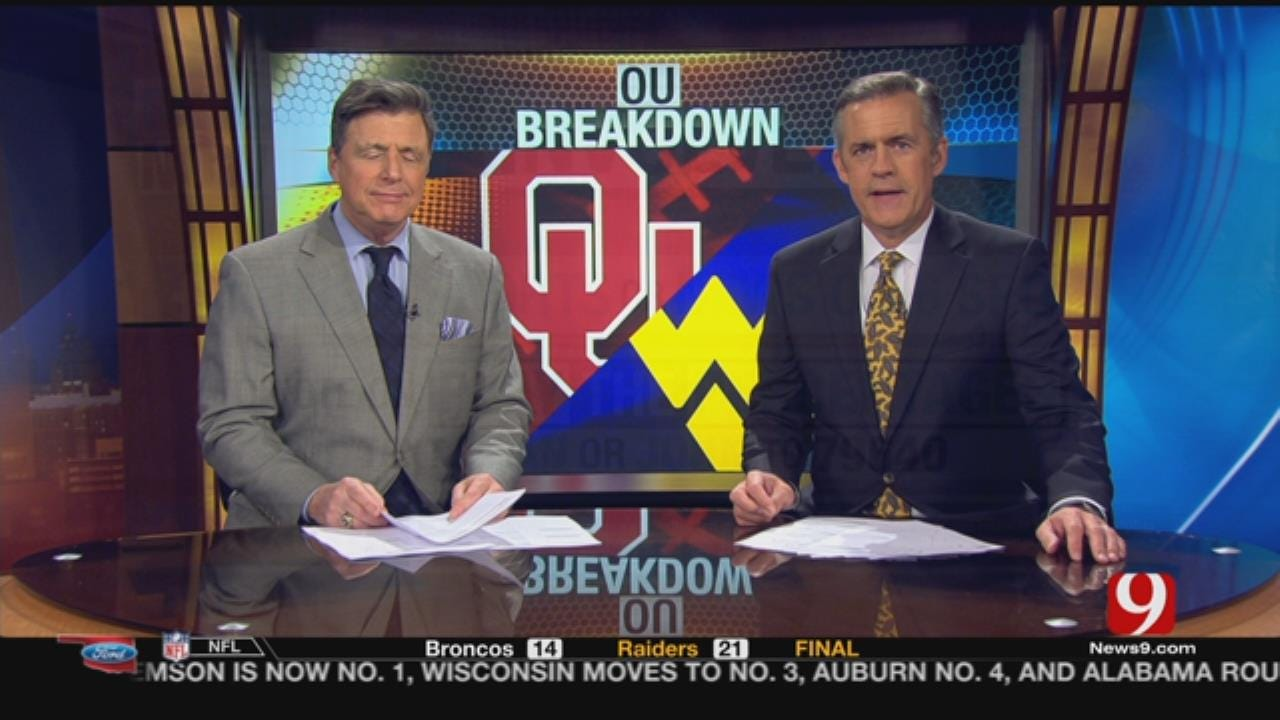 OU-West Virginia Breakdown