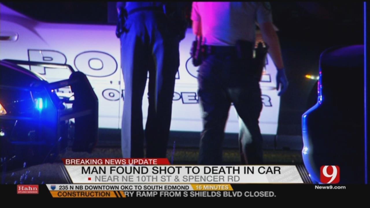 Man Found Dead In Vehicle In MWC Park