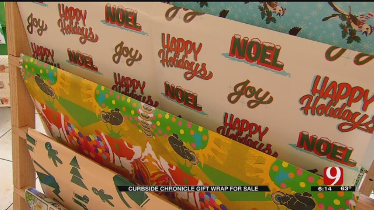 Locally Designed Wrapping Paper Helps Those In Need