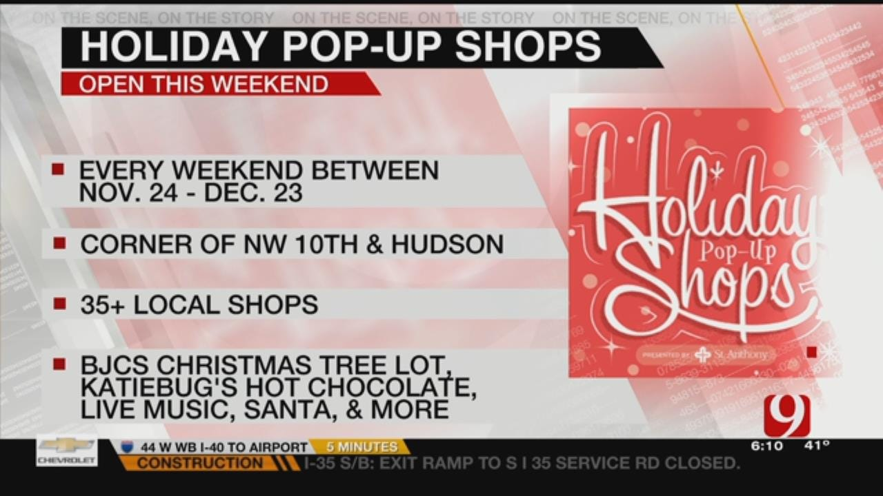 Midtown Holiday Pop-Up Shops Opens For Season