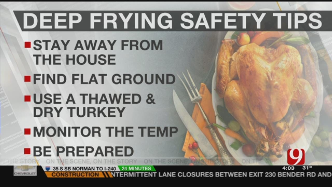 Fire Department Stress These Tips For Cooking Fried Turkey