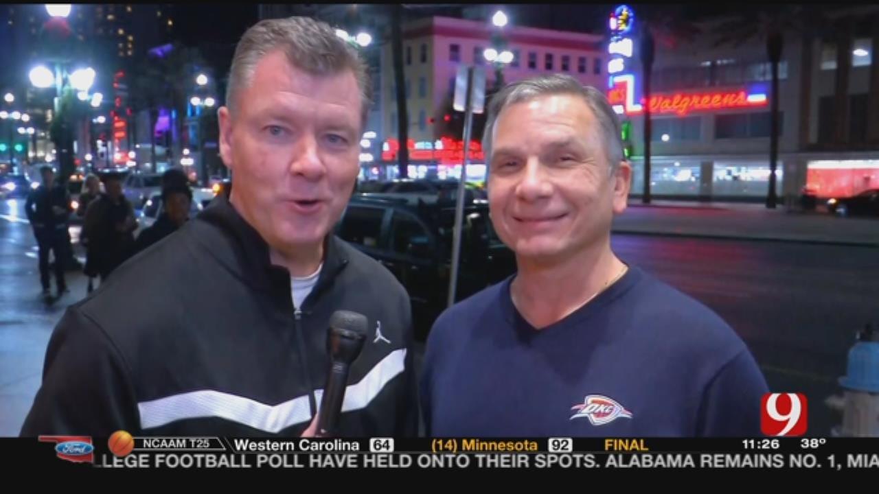 Steve McGehee Talks Thunder Basketball With Matt Pinto