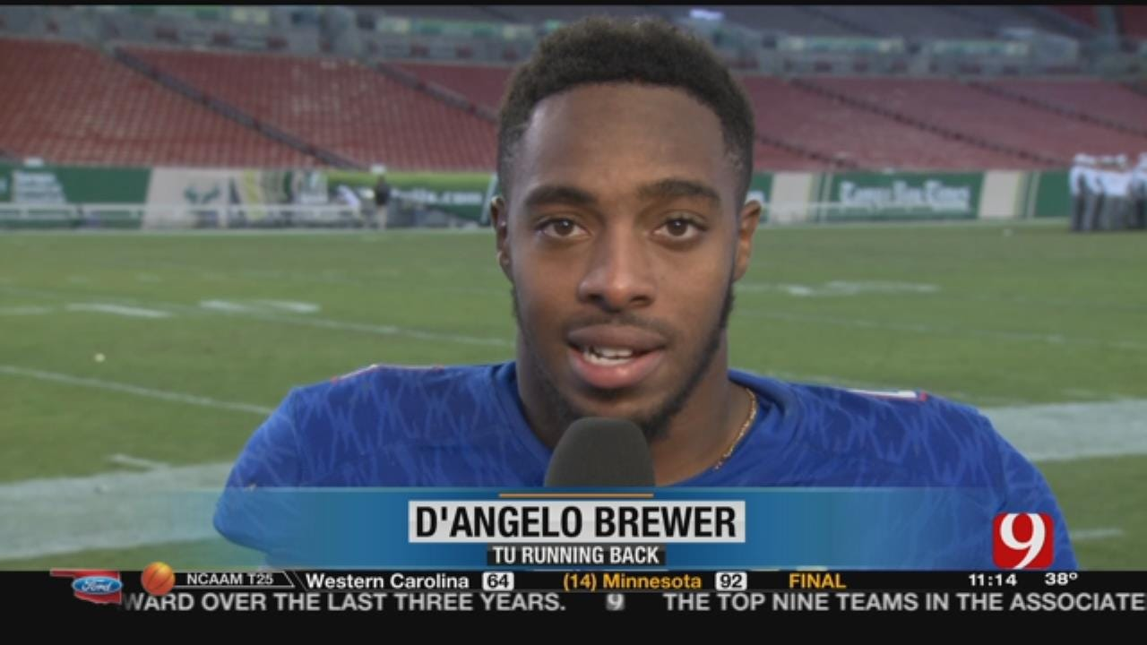 Tulsa Loses, Brewer Breaks Rushing Record