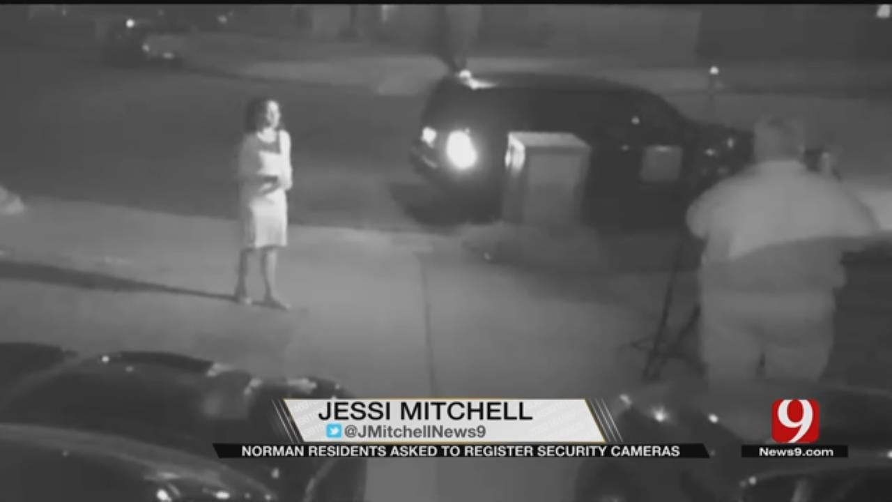 Norman Police Use Home Surveillance Cameras To Gather Evidence