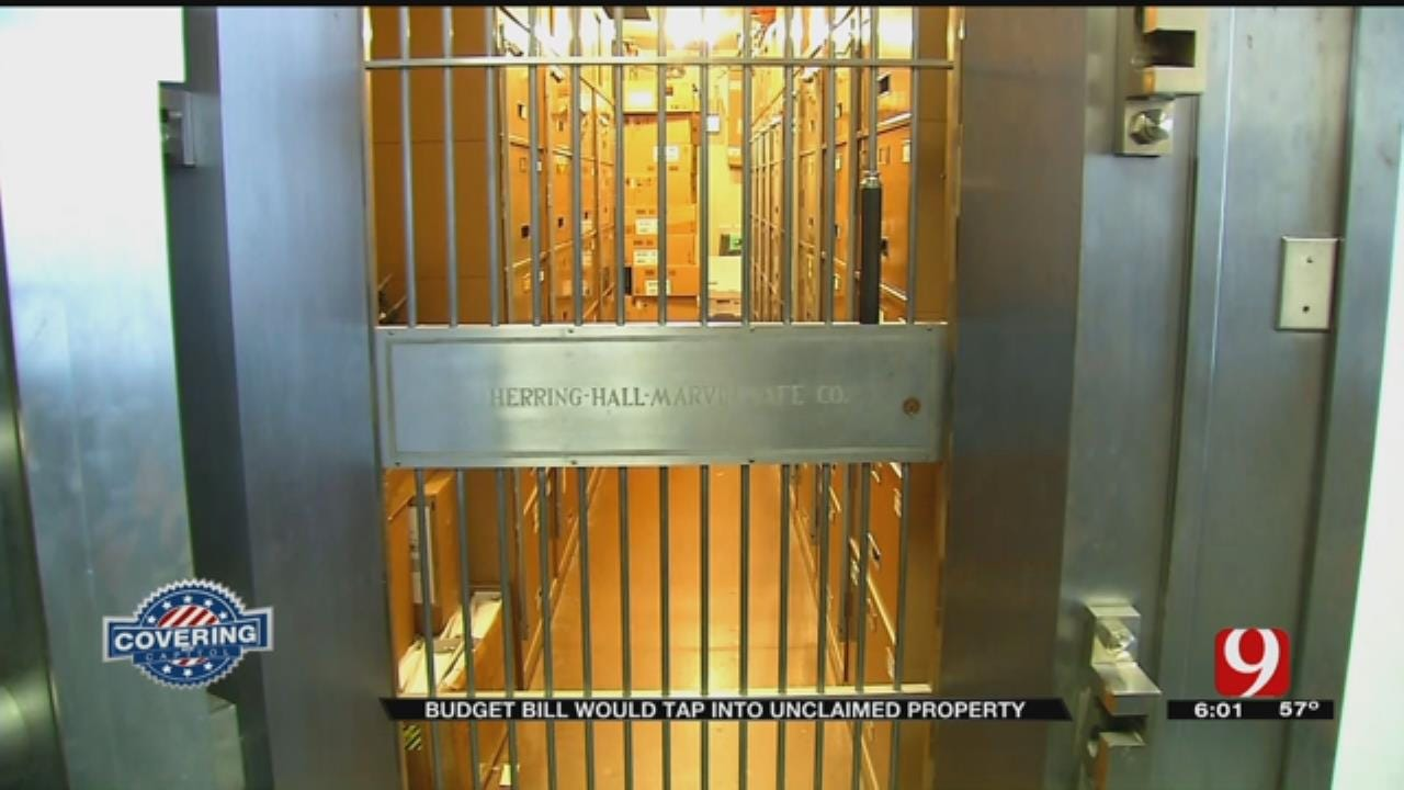 Budget Bill Would Tap Into Unclaimed Property