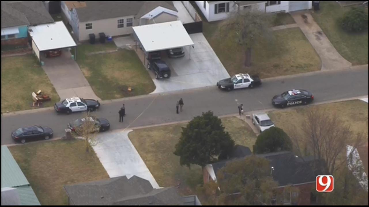WEB EXTRA: Shots Fired During SW OKC Home Invasion