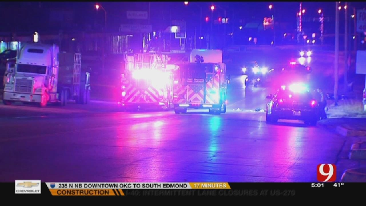 One Dead After Motorcycle Crash In SW OKC