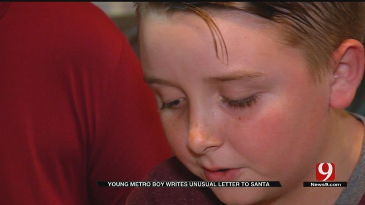 Metro Boy Sends Santa An Unusual Christmas List