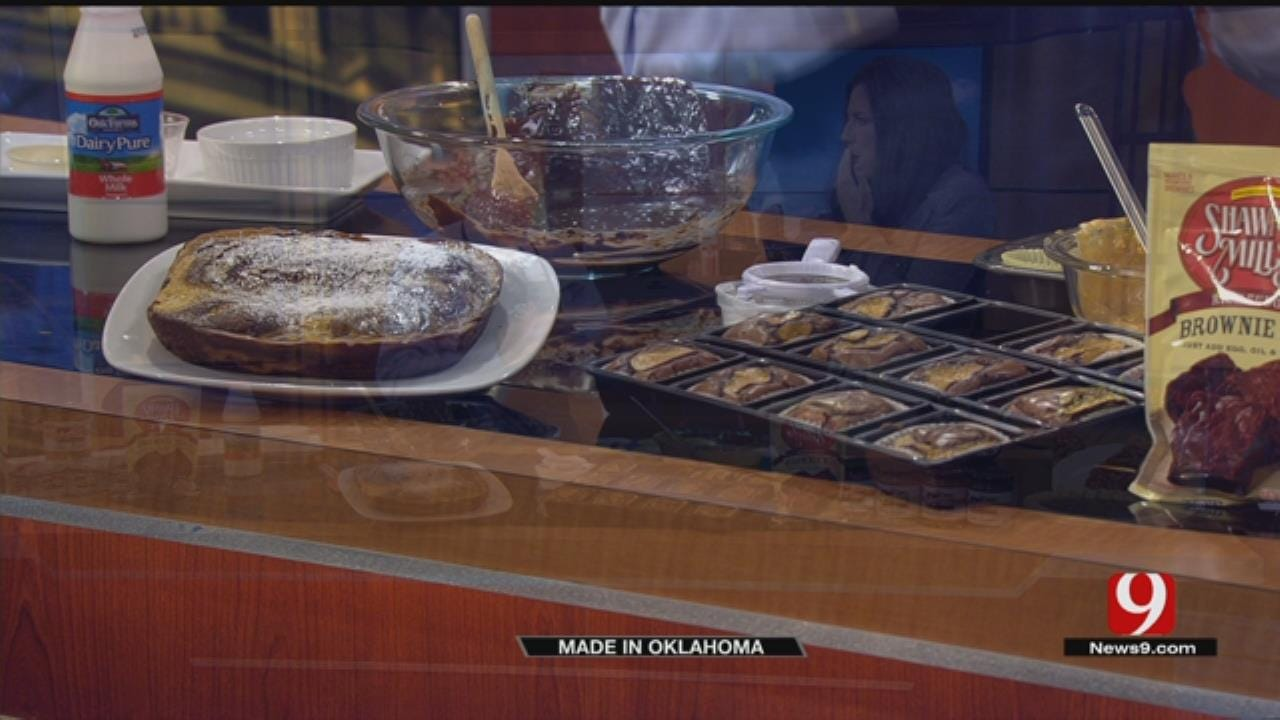 Made In Oklahoma: Pumpkin Spice Brownies