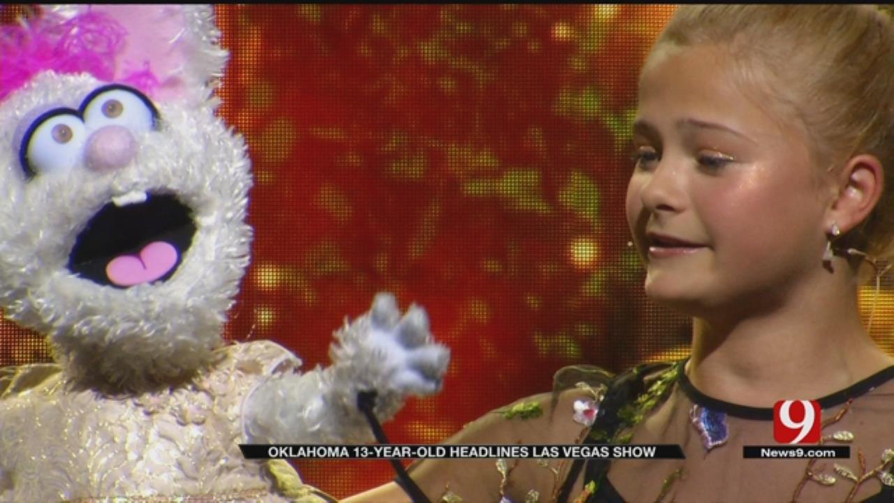 Oklahoma Sensation Darci Lynne Headlines Show In Las Vegas