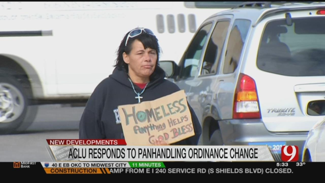 ACLU Responds To Panhandling Ordinance Change