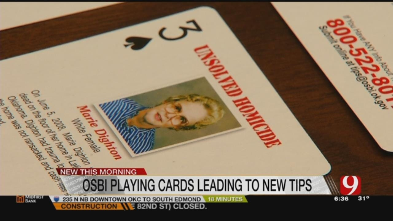 Cold Case Tips Coming In After Deck Of Cards Makes Debut