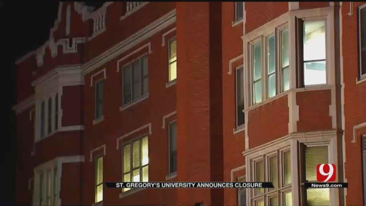 St. Gregory's University In Shawnee Announces It Will 'Suspend Operations'