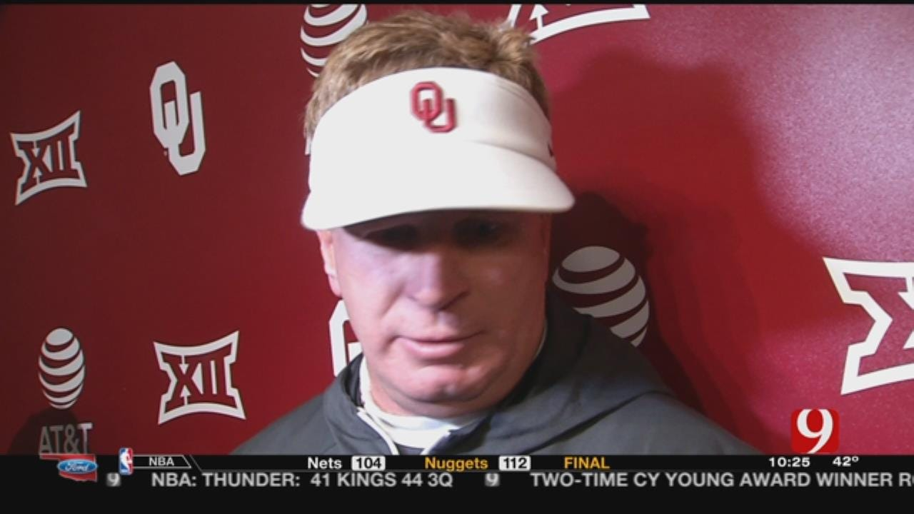 Stoops Not Having Secondary Concerns