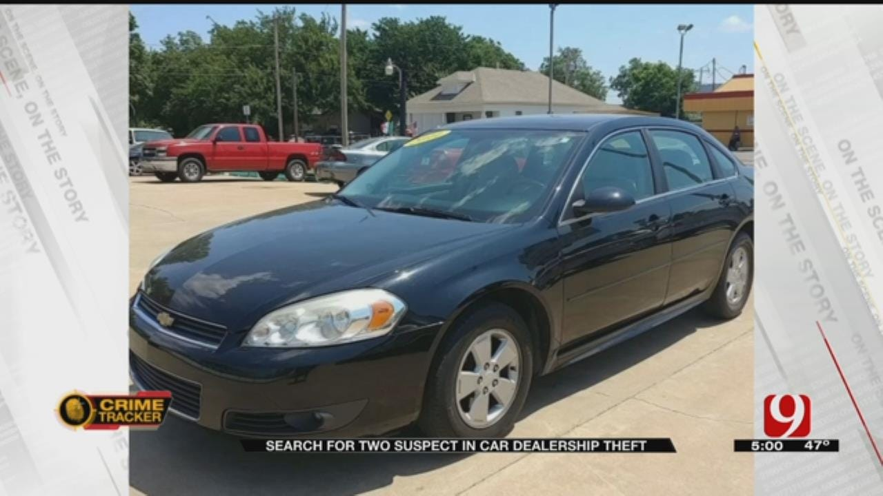 Car Thieves Target Car Lots In Southwest OKC