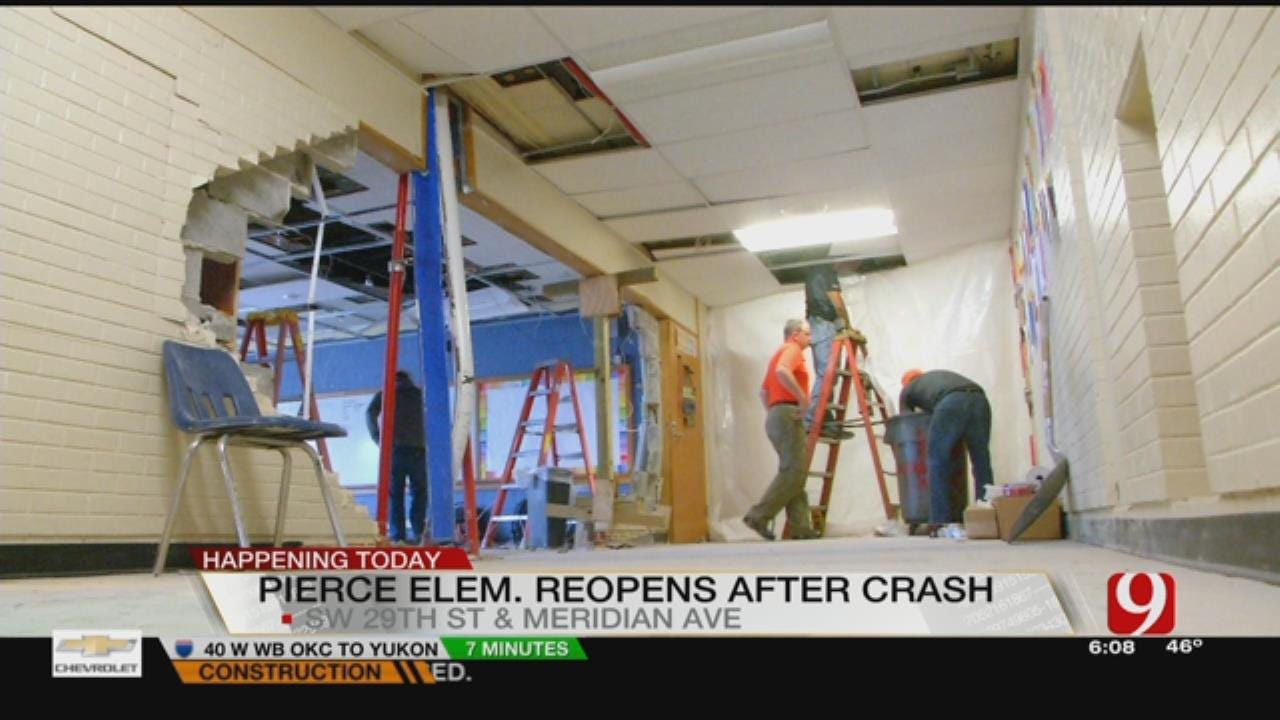 Classes Set To Resume At Pierce Elementary After Crash