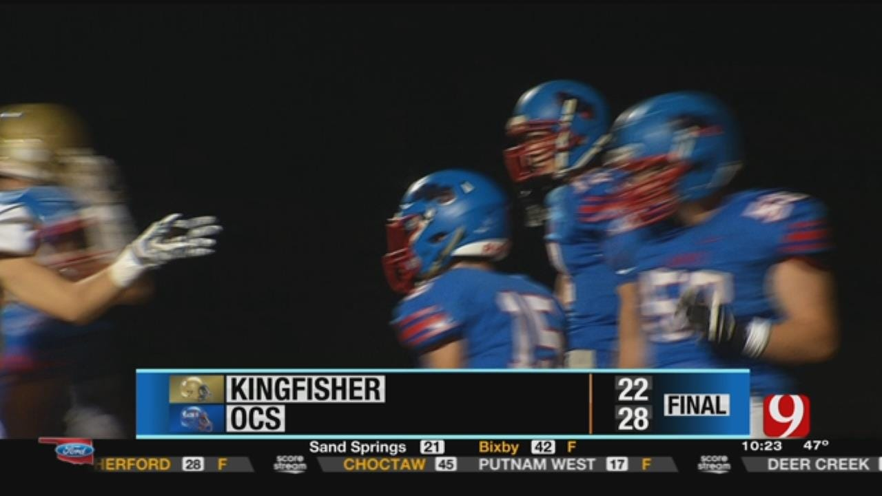 Kingfisher 22 at Oklahoma Christian School 28