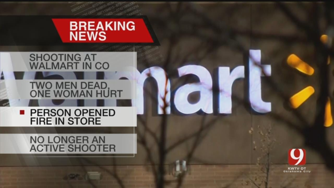 2 Killed, 1 Hurt In Colorado Walmart Shooting