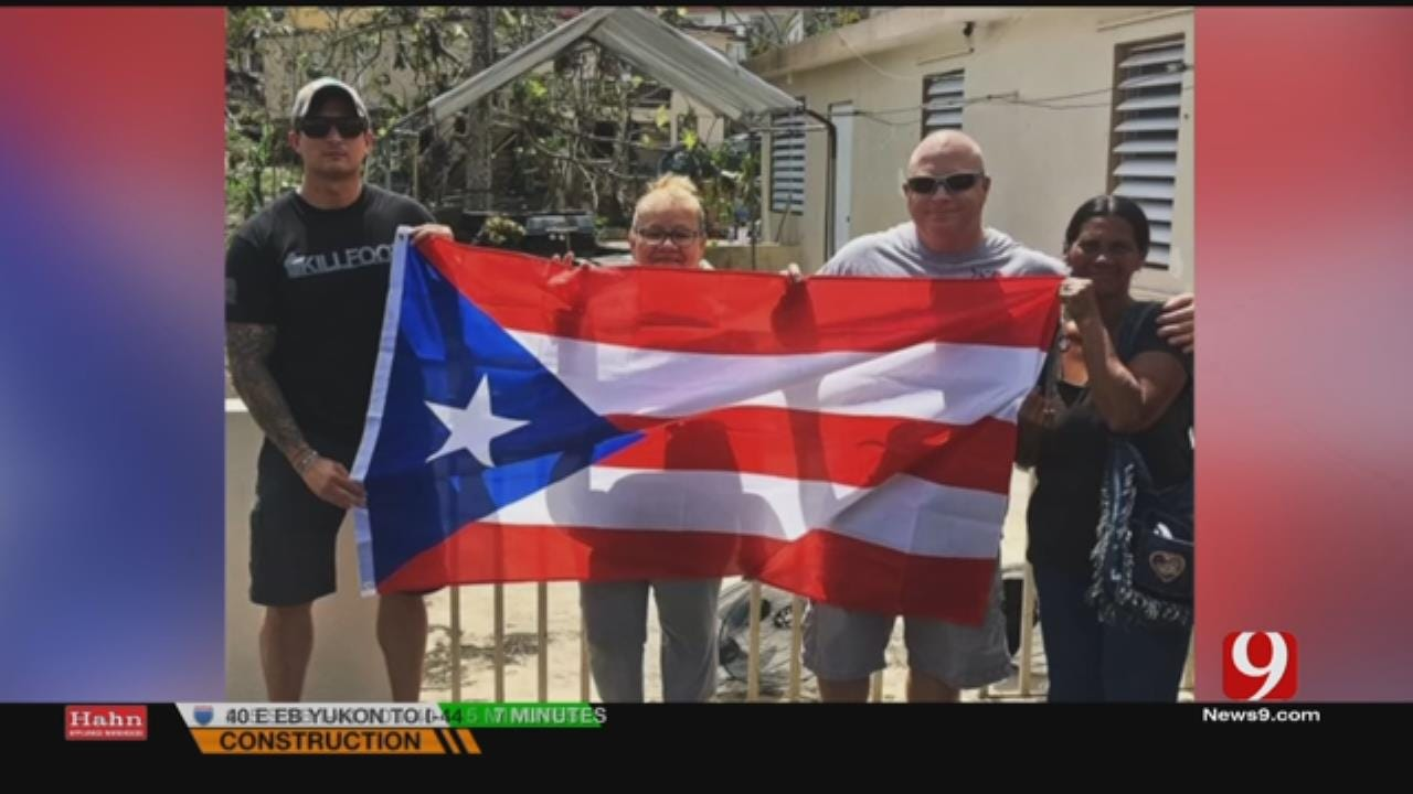 Oklahoman Describes Hurricane Aftermath In Puerto Rico