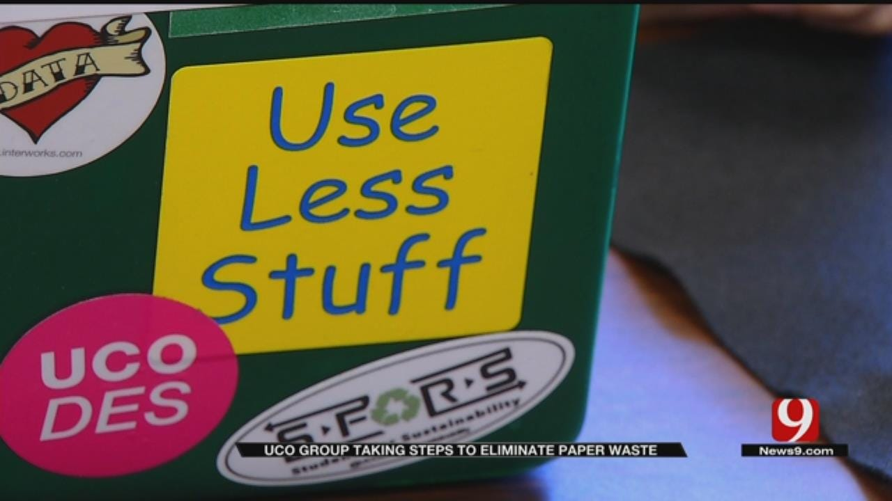 UCO Joins National Effort To Reduce Paper Waste