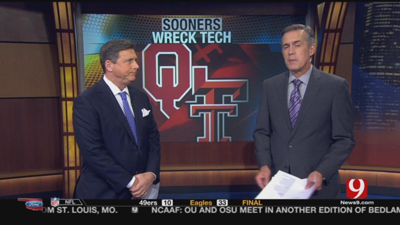 Sooners Wreck Texas Tech