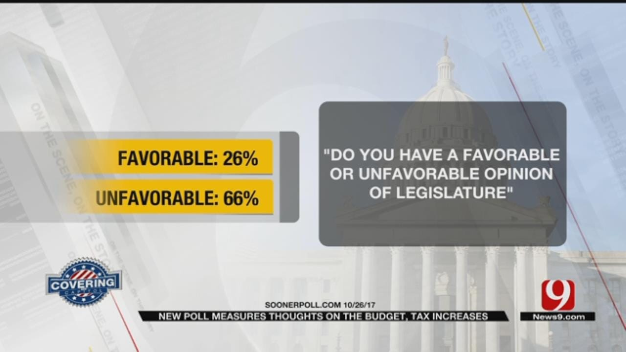 New Poll Measures Thoughts On State Budget, Tax Increases