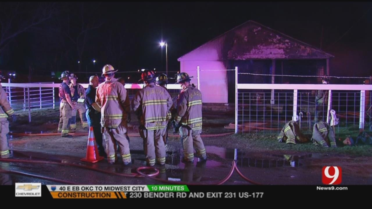 House Near Downtown Destroyed By Fire Early Thursday