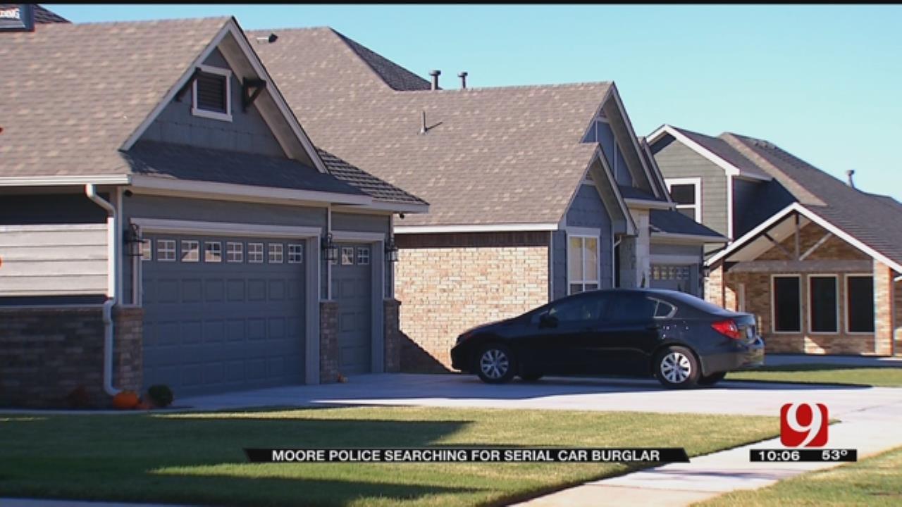 Repeat Car Burglar Caught On Surveillance