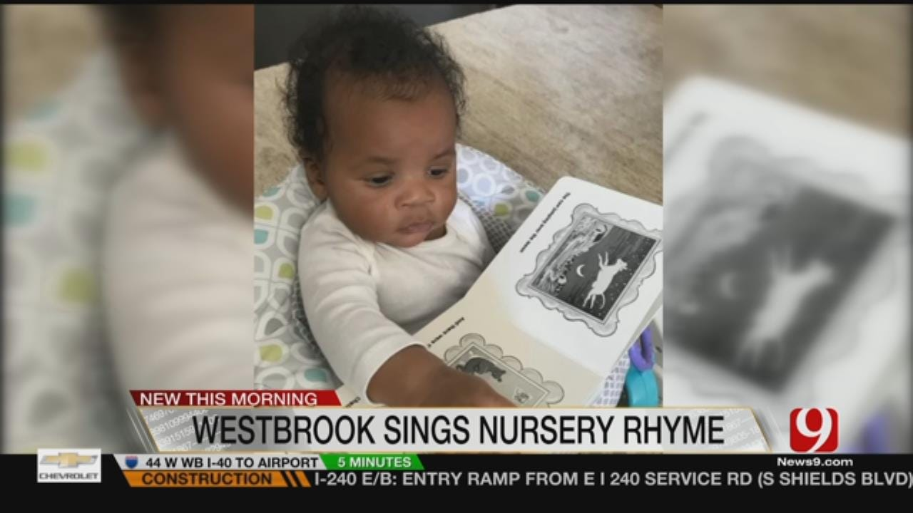 Russell Westbrook Sings to His Baby Boy