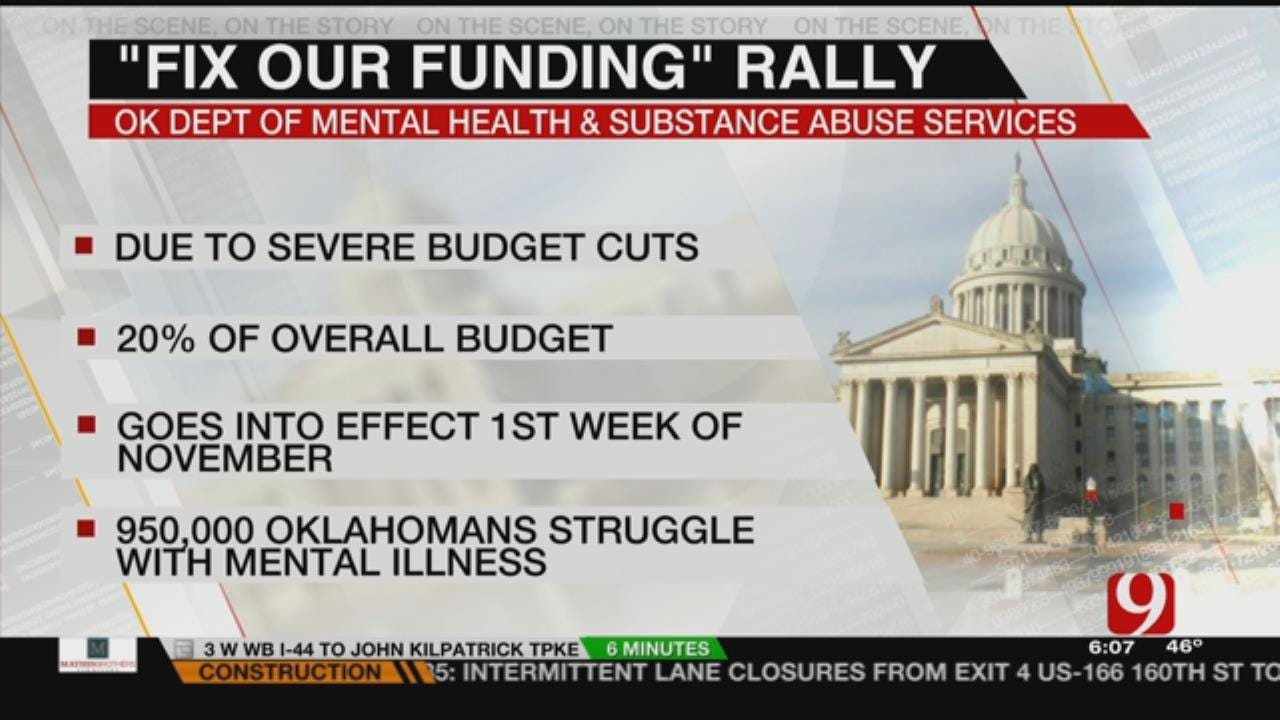 Mental Health Advocates To Rally At State Capitol