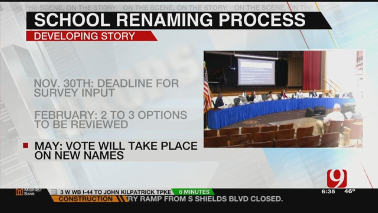 OKCPS Asks For Public's Input On Possible Names