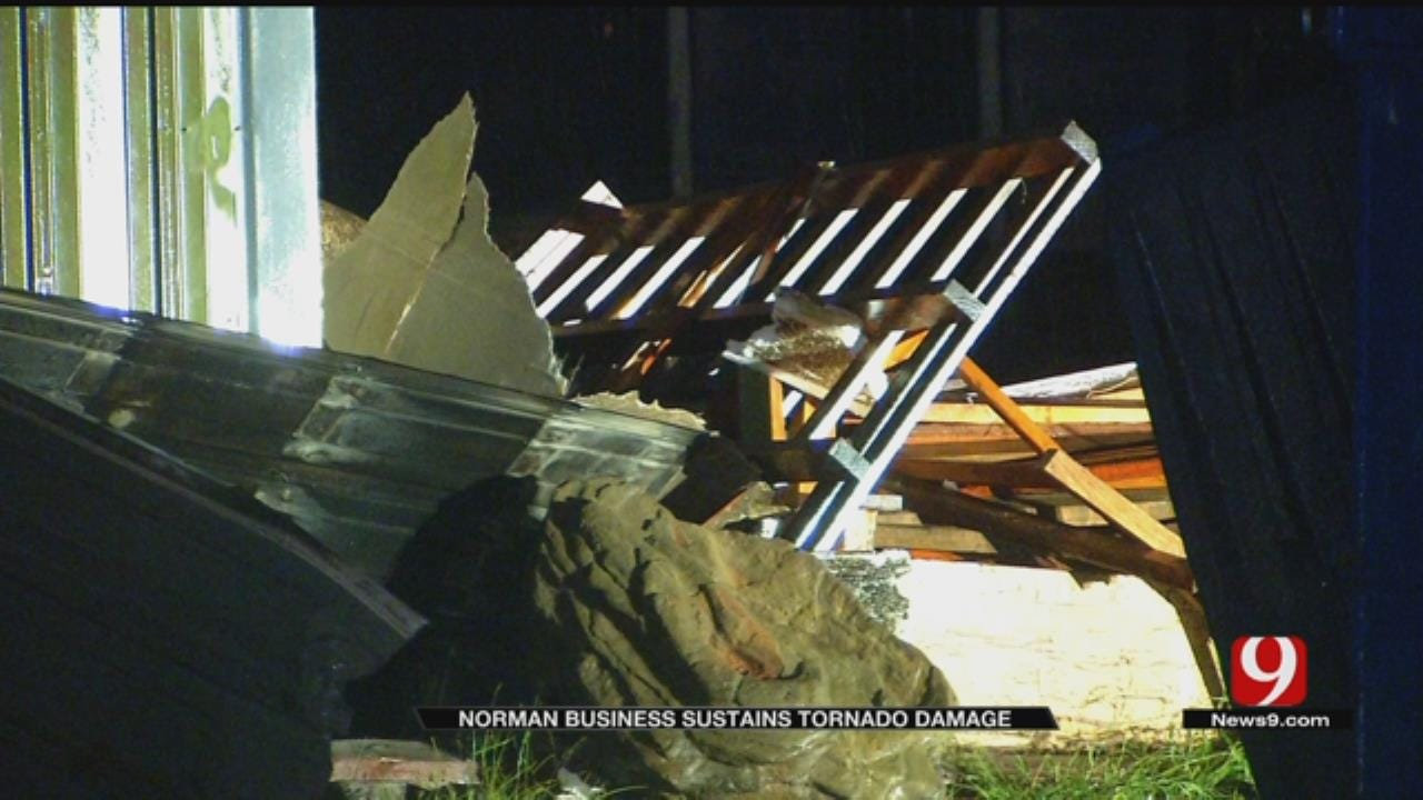 Business Owner Rushes To Tornado Damage In Norman