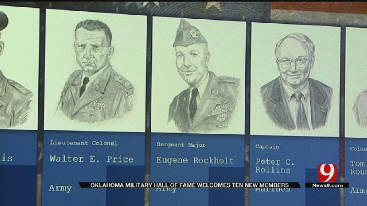 10 Oklahomans Documented In Oklahoma Military Hall Of Fame