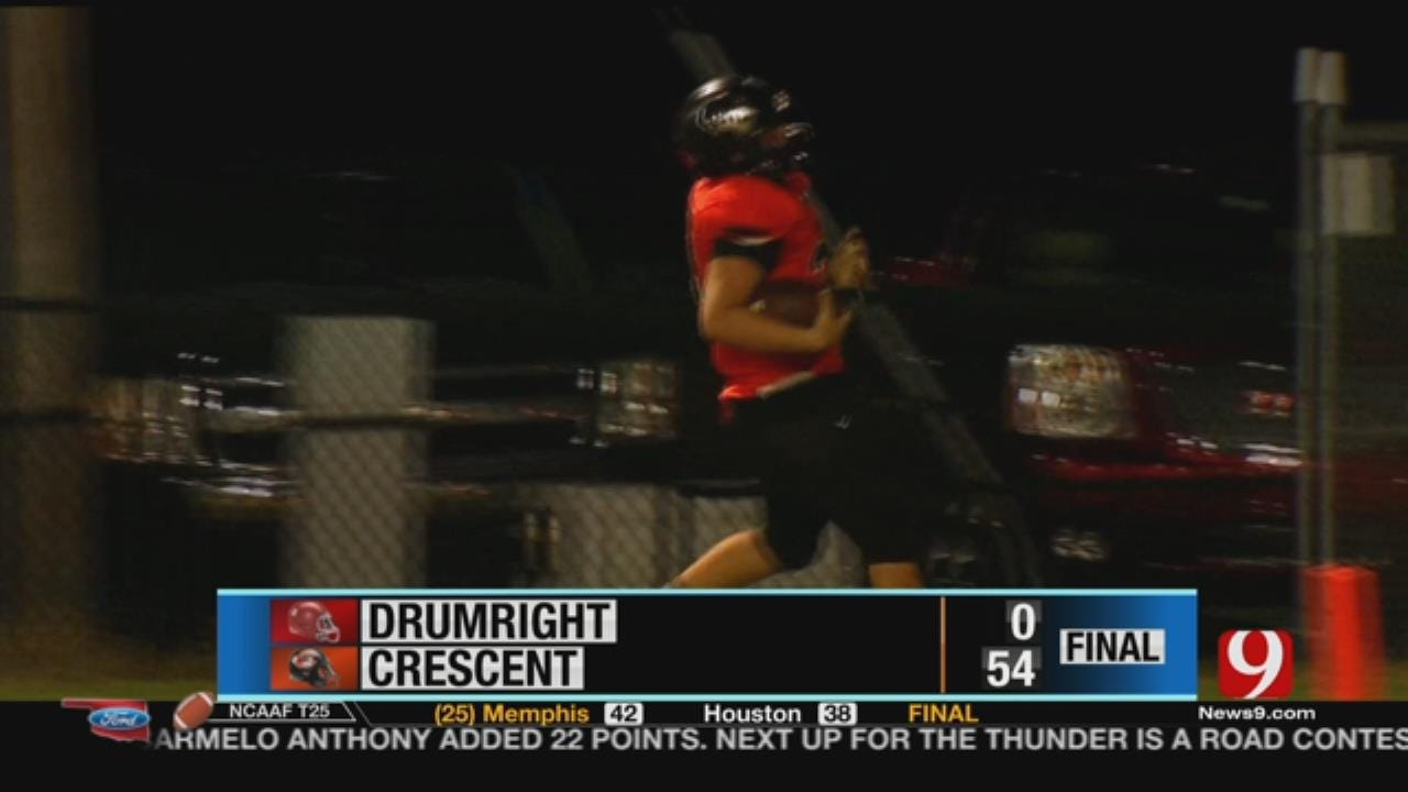 Drumright 0 at Crescent 54