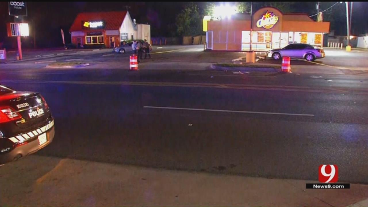 One Injured In NW OKC Auto-Pedestrian Crash