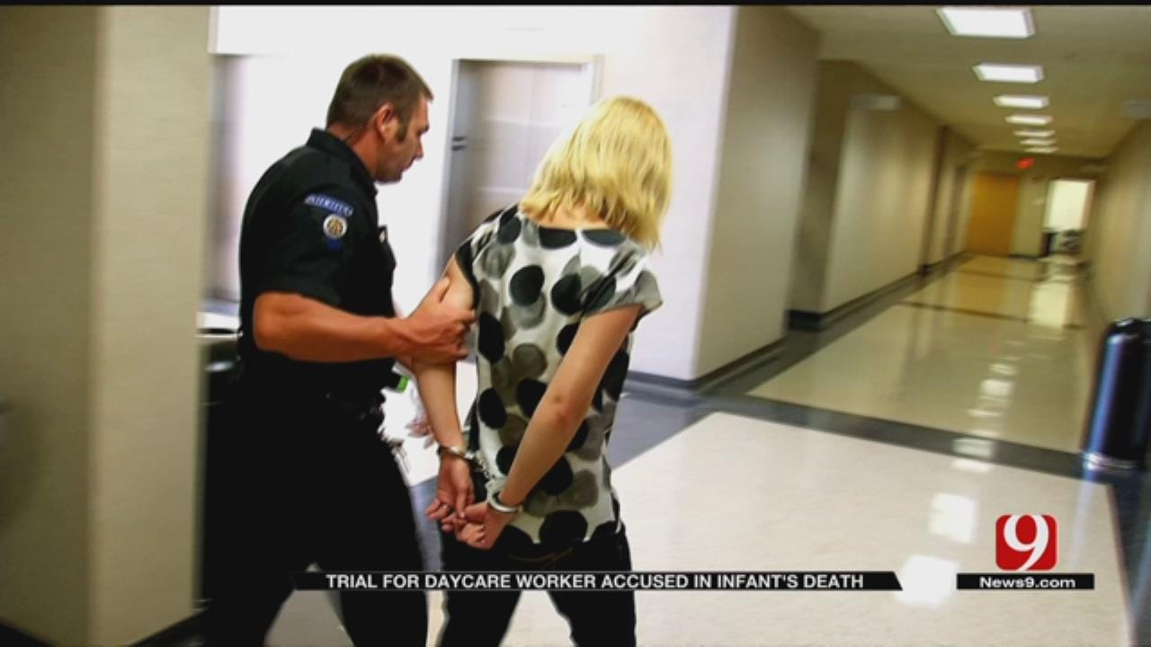Former Noble Day Care Worker On Trial For Death Of A Baby